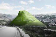 LACE Hill: el edificio con forma de montaña para Armenia
