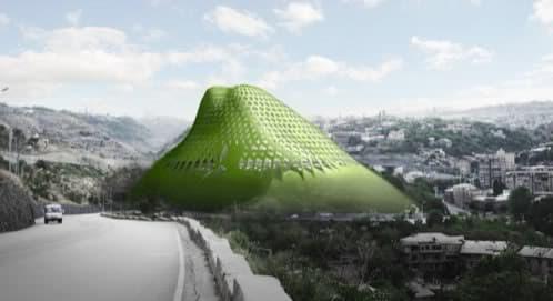 edificio montaña LACE Hill - Erevan - Armenia