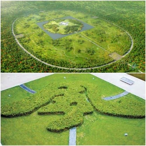 jardines China Park Gu Wenda
