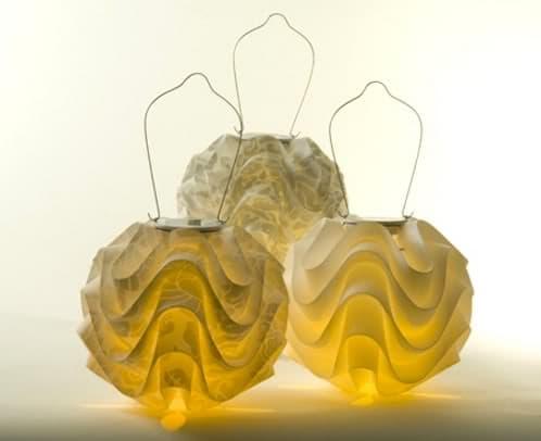 lámparas solares japonesas