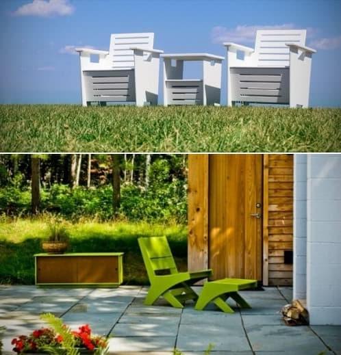 muebles ecológicos de jardín LOLL
