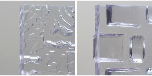 paneles de resina y material reciclado