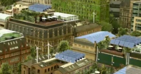 vídeo de ciudad ecológica